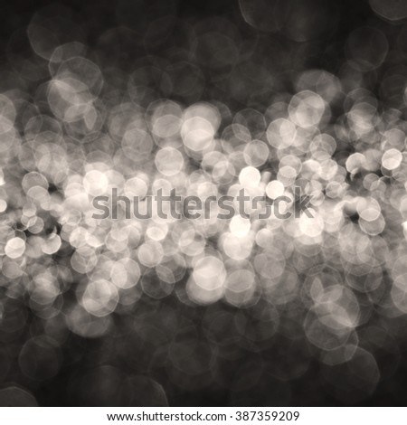 the Abstract elegant bokeh lighting for  holiday background - stock photo