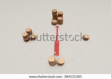 The accumulation of currency