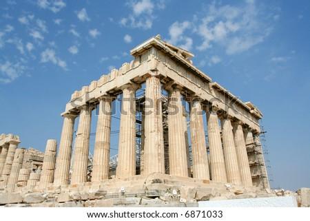 The Acropolis - Athens - stock photo
