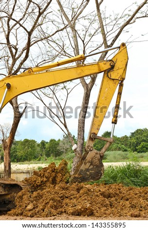 The action of machine - stock photo