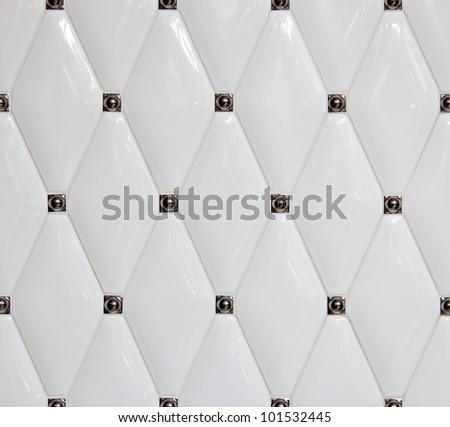 The actual texture of ceramic tiles - stock photo