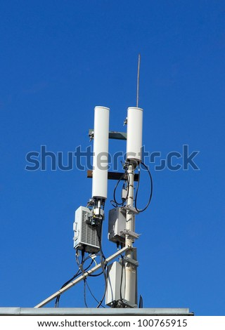 the aerial for cellular communication