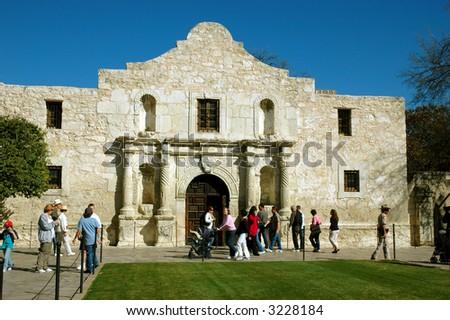 The Alamo - stock photo