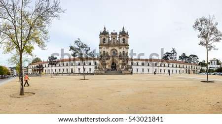 The Alcobaca Monastery is a Mediaeval Roman Catholic monastery located in the town of Alcobaca, Portugal