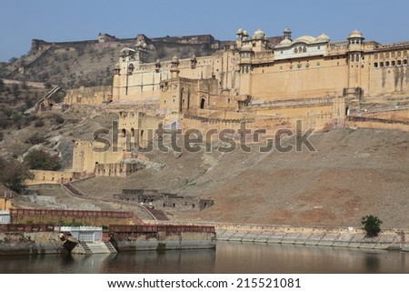 The Amber Palace of Jaipur in India