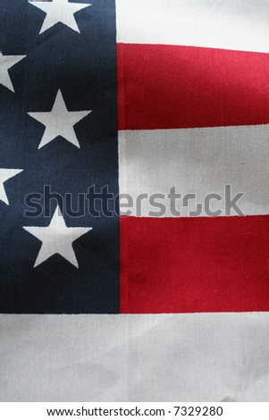 The American Flag Stars and Stripes - stock photo