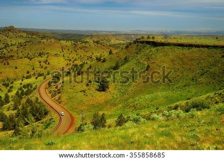 The American landscape. Oregon. USA - stock photo