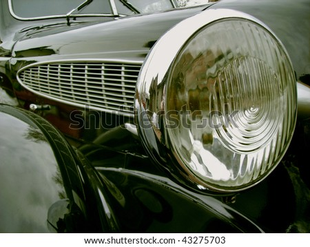 The ancient car_1 - stock photo