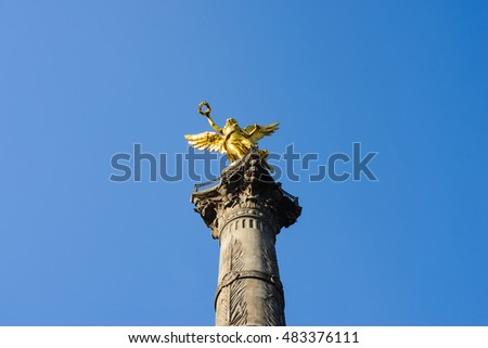 The Angel of Independence (Victory column), Mexico City, Mexico