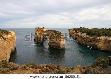 The Arch, Great Ocean Road, Australia - stock photo