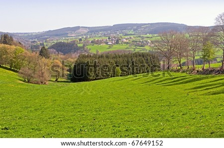 The Ardennes - stock photo