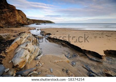 The Atlantic bay - stock photo