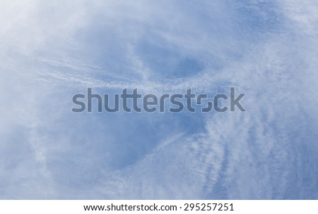 The atmosphere cloudy sky.in thailand - stock photo