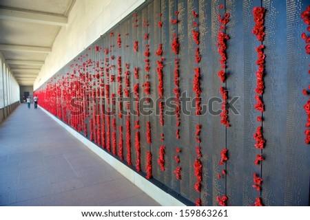 The Australian War Memorial in Canberra  - stock photo