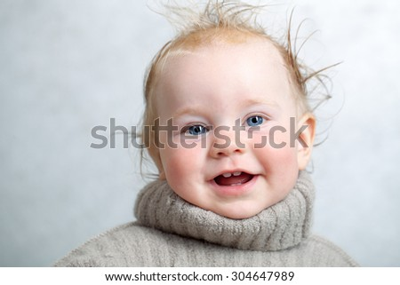 Knitting Pattern For Baby Oleg : Baby Warm Knitted Woolen Sweater Stock Photo 304647971 - Shutterstock