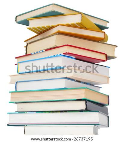 the bachelor books - stock photo