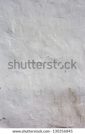 The Background from high detailed fragment stone white wall - stock photo