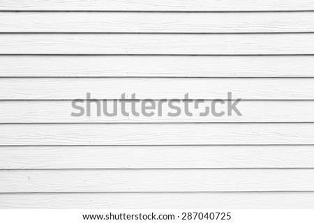 The background image of the old white wood wall