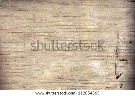 the background of weathered painted wood for design - stock photo