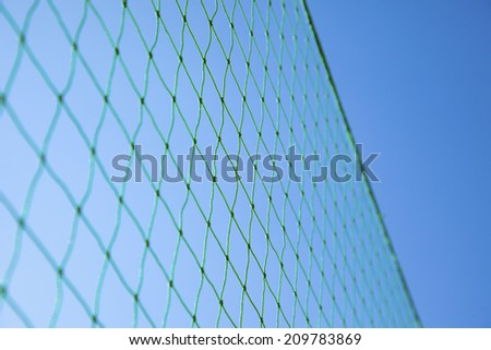 The Backstop Of A Baseball Field