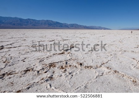 The Badwater Basin in California's Death Valley