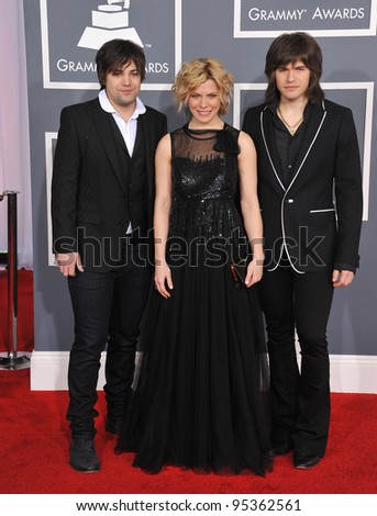 The Band Perry at the 54th Annual Grammy Awards at the Staples Centre, Los Angeles. February 12, 2012  Los Angeles, CA Picture: Paul Smith / Featureflash