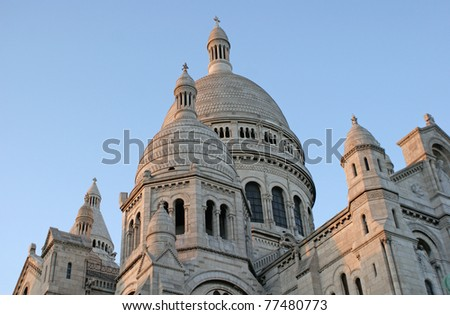 The Basilica of the Sacred Heart of Paris, or better known as Sacré-Cœur Basilica