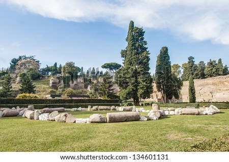 The Baths of Caracalla (Terme di Caracalla) were the second largest Roman public baths, or thermae, built in Rome, Italy