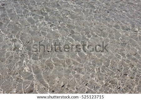 the beach sand and water sea. background