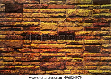 The beautiful texture of of sandstone wall.