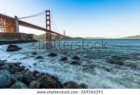 The Beauty of Golden Gate Bridge
