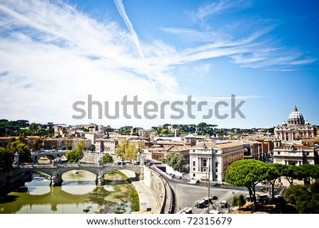 The beauty of Rome - stock photo
