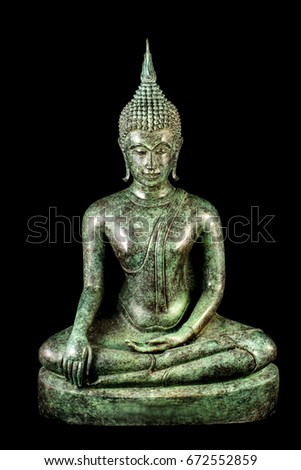 The beauty, the intention, the respect, the clarity in Buddhism. Show in the mold. Buddha in many forms.