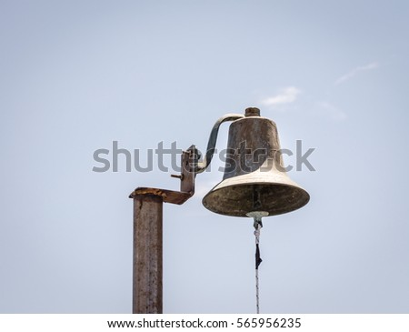 The bell on board