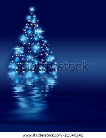 The best Christmas tree, maybe. - stock photo