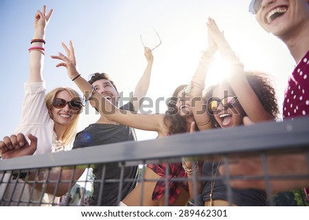 The best show on stage!  - stock photo