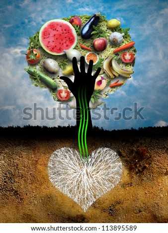 The best tree - stock photo