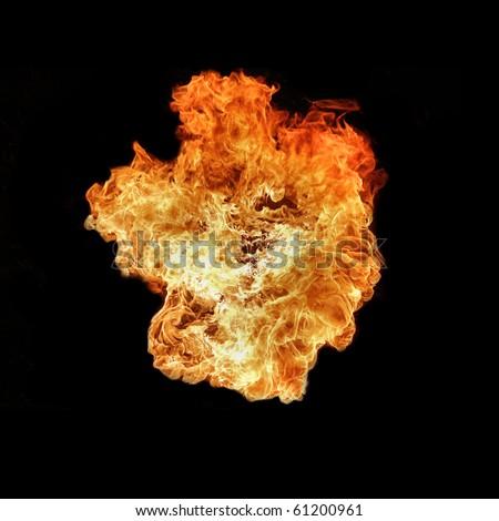 The big bang - stock photo