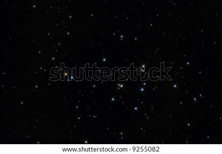 The big stars in M44 - stock photo