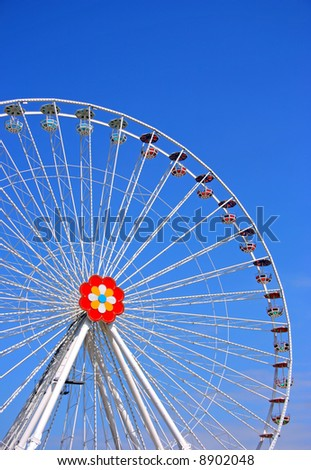 The big wheel from Prater, Vienna - stock photo