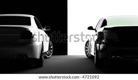 Modern New Black Metallic Sedan Car Stock Illustration 525525049