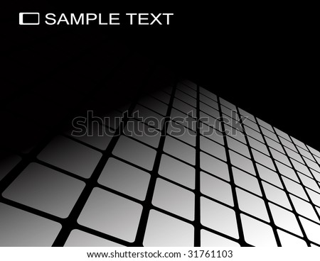 the black and white raster abstract background