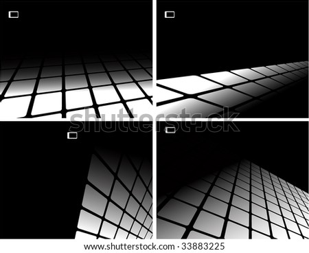 the black and white raster abstract background (vector version in portfolio)