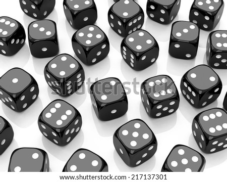 the black dices