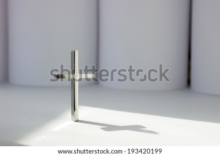 The Blessing from God. Religion Concept. - stock photo