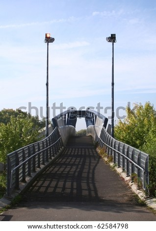 The Blue Bridge - stock photo