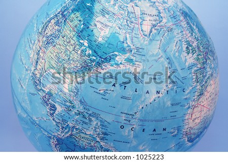 The blue planet - stock photo