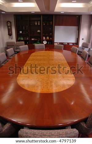 The Board Room Table