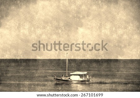 stock-photo-the-boat-vintage-background-old-postcard-design-in-grunge-and-retro-style-267101699.jpg