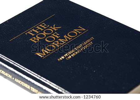 The Book of Mormon (another testament of Jesus Christ) - stock photo